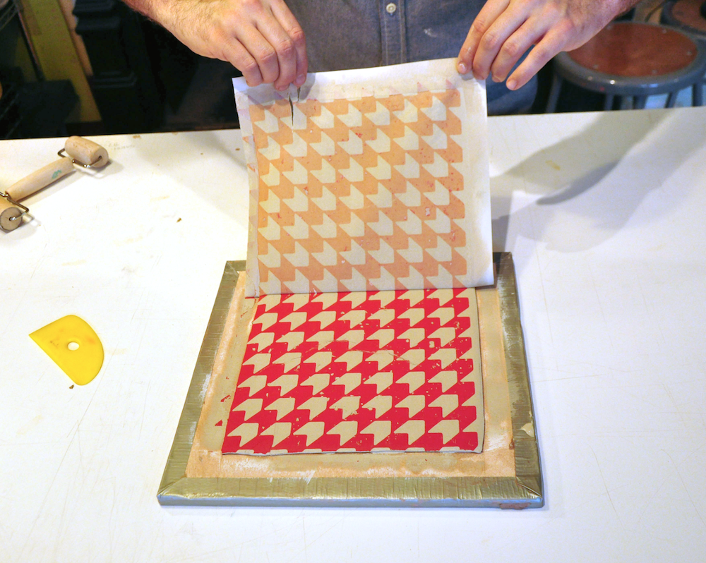 Photo G: Image Transfer on clay tile