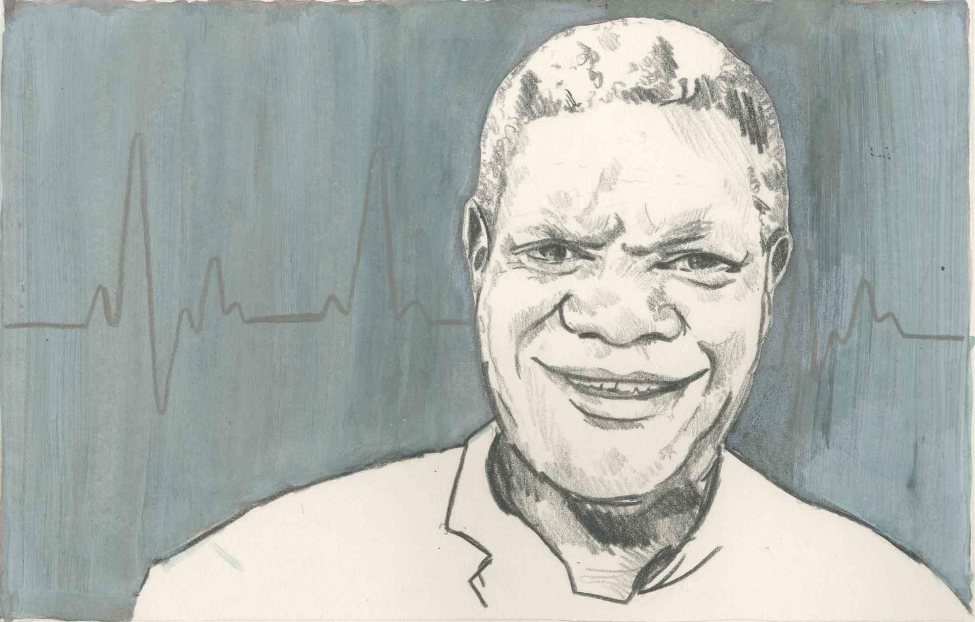 01/01/15 Award-winning gynaecologist Dr Denis Mukwege, whose medical skills save the lives of rape victims. He works at Panzi Hospital, Bukavo, Democratic Republic of Congo