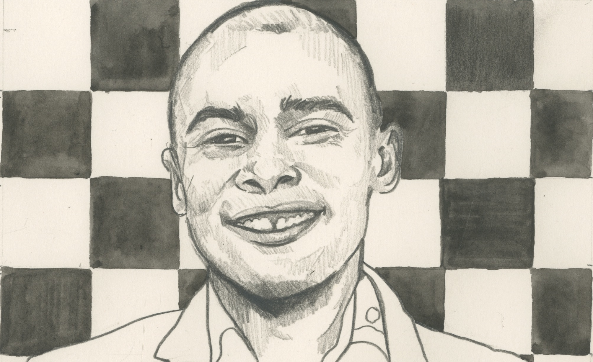 09/01/15 South African Kenny Solomon who escaped township violence to become a chess grandmaster