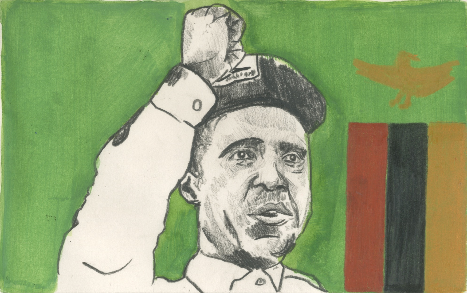 24/01/15 Edgar Lungu is the new president of Zambia. He was previously justice and defence Minister, as well as being secretary general of his party, the Patriotic Front