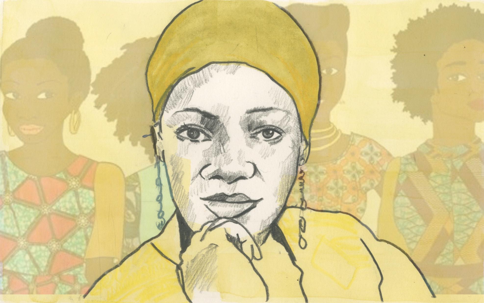 26/01/15 Nigerian author Oyindamola Affinnih who has written her latest novel ' A Tailor-made Romance'