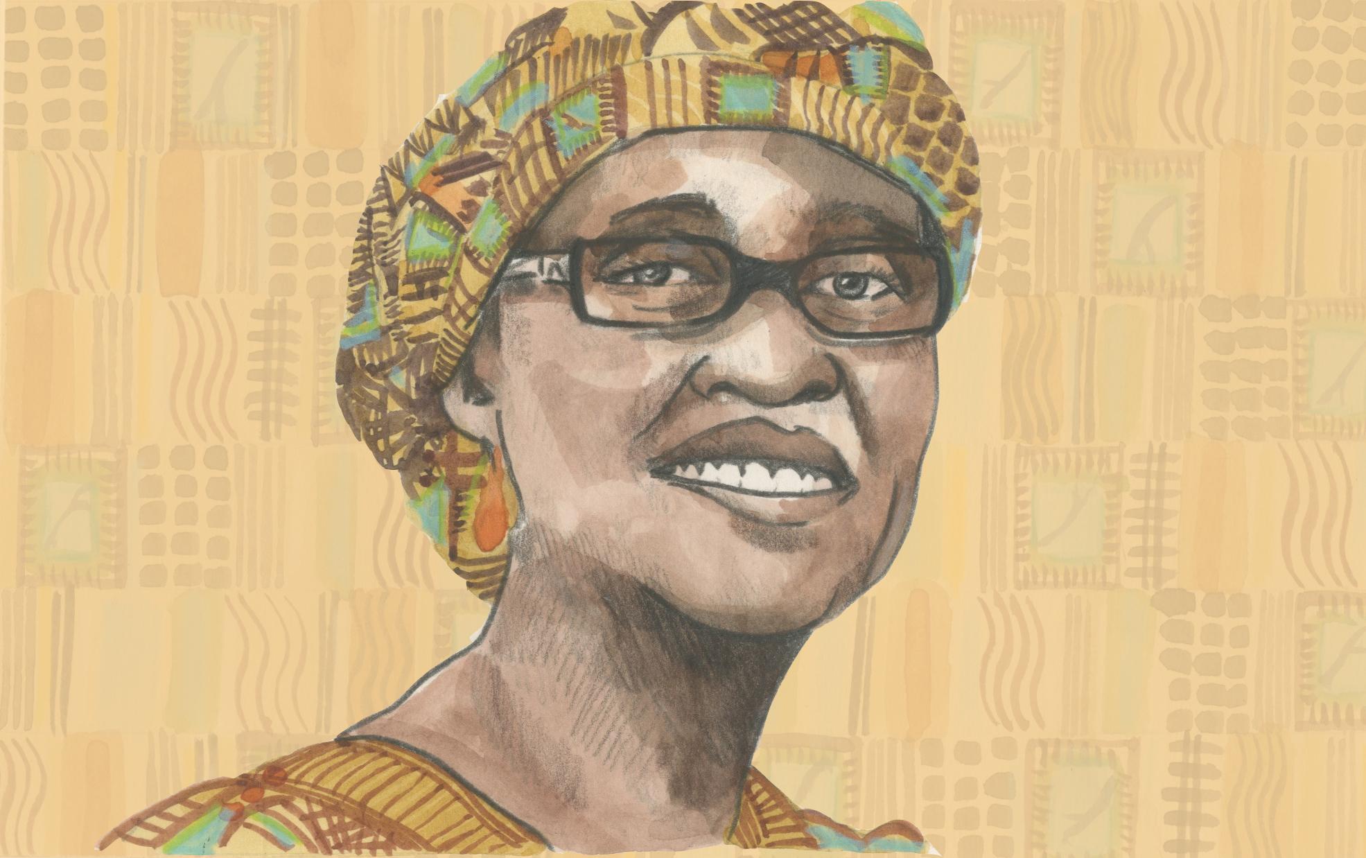 05/02/15Ugandan born Winnie Byanyima, executive director of Oxfam, the first African to run a global development agency