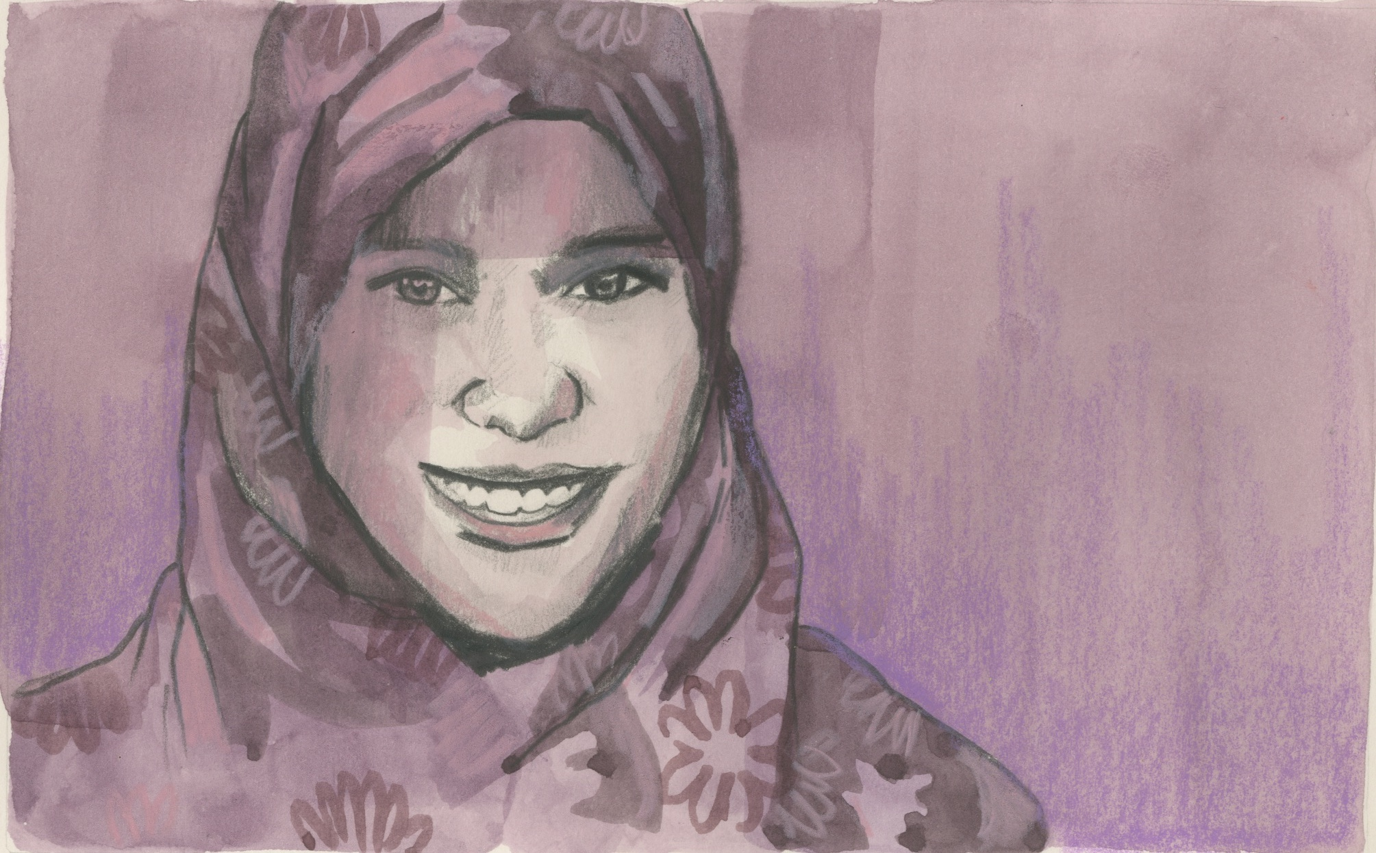 10/02/15 Alaa Murabit leads initiatives to promote the role and rights of women in Libyan society.