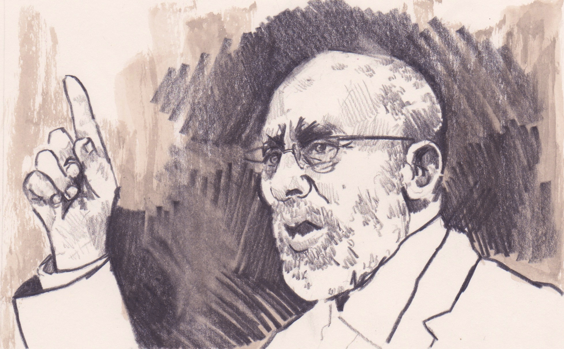20/03/15Mohammed Badie, the leader of the Muslim Brotherhood has been condemned to death for planning attacks against the Egyptian state