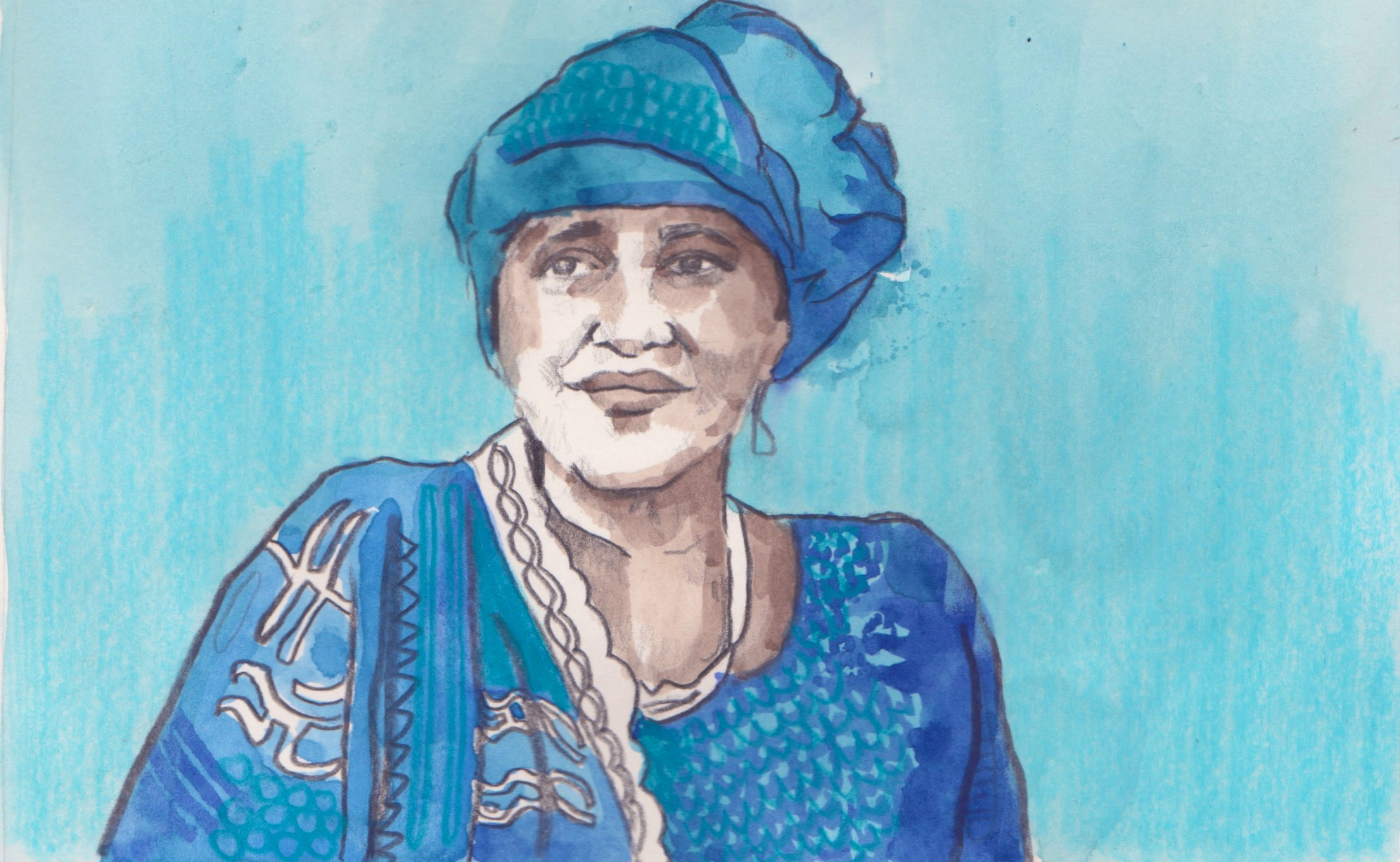 """15/03/15Dr Hawa Abdi Diblaawe, or """"Mama Hawa"""" as she is known in Somalia, is a remarkable woman who has run a hospital and refugee camp throughout the country's 22-year civil war, sheltering hundreds of thousands and saving many lives"""