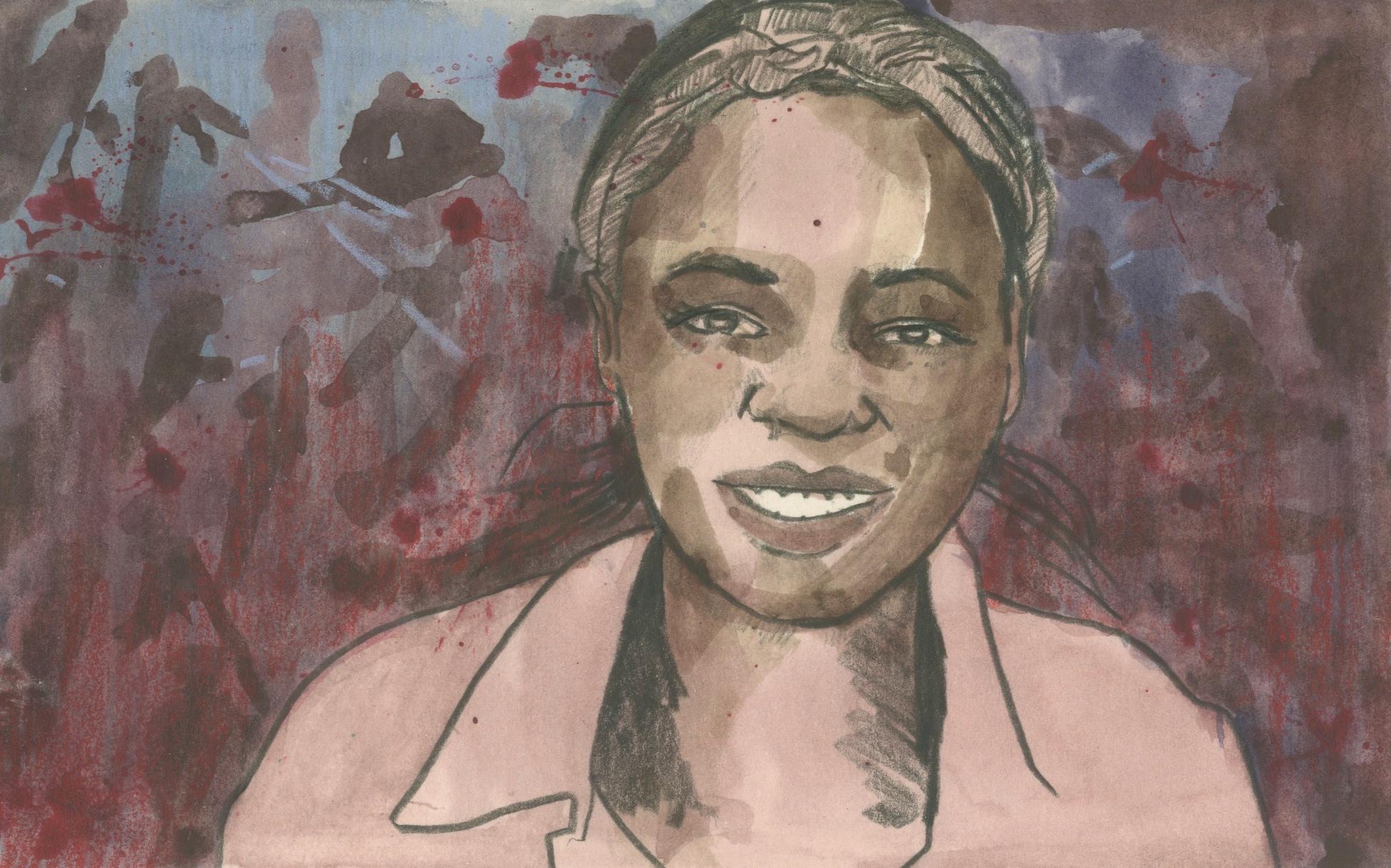 02/04/15Janet Akiniyi, a student at Garissa University College in Kenya. Al-Shabab gunmen rampaged through the university murdering 147 people including Janet