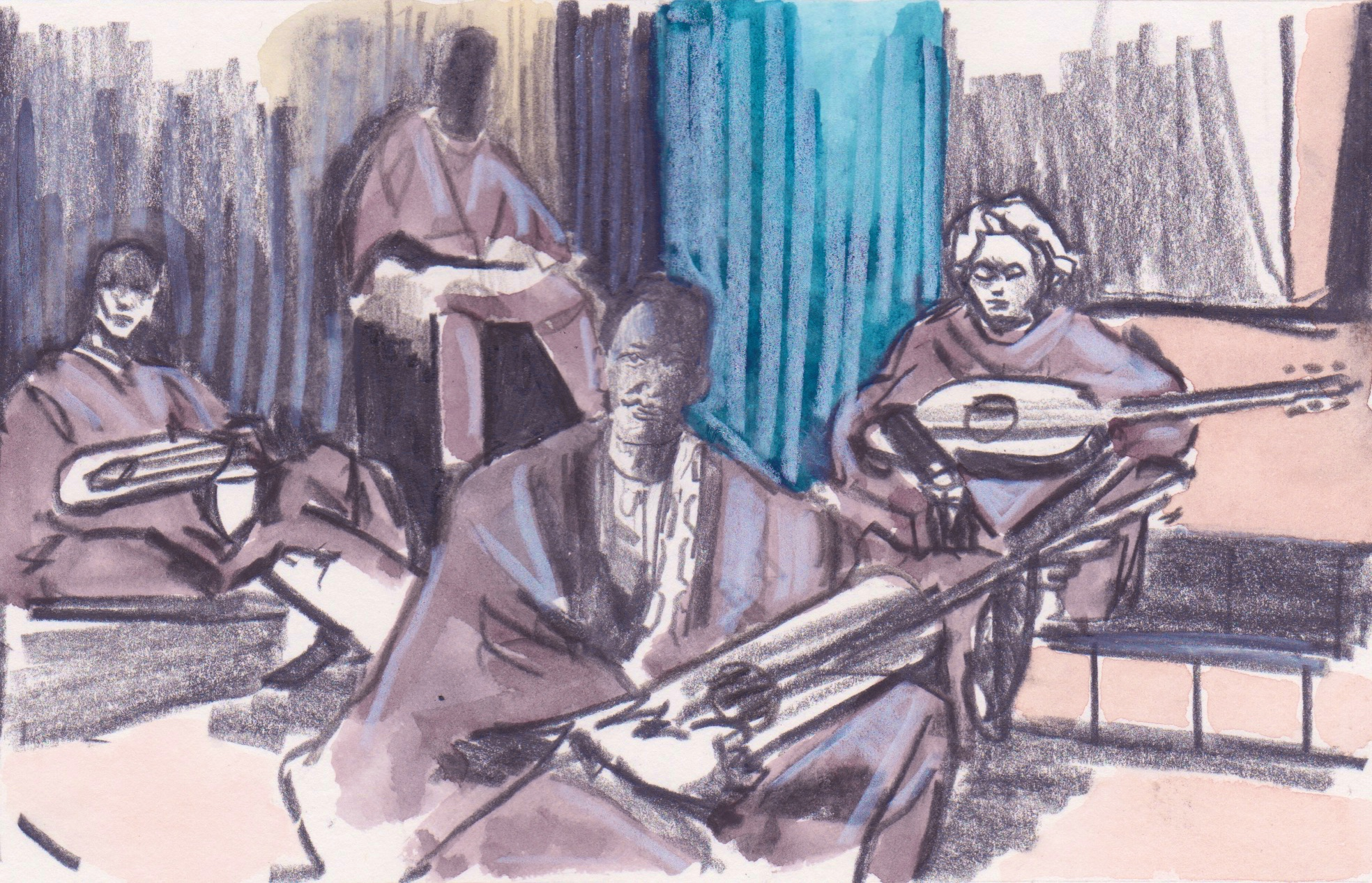 01/05/15 Bassekou Kouyate has launched his latest album 'Ba Power'. Kouyate is a master of the lute and is a well-known name in Mali
