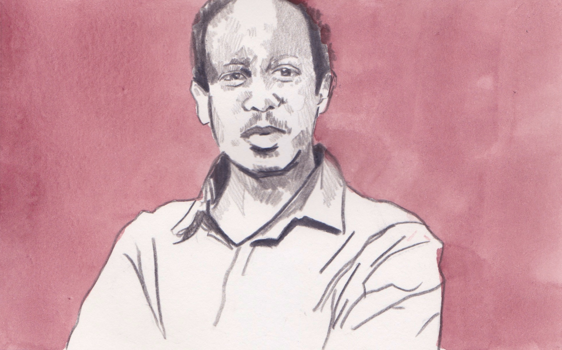 02/05/15 Redaezghi Tesfay Hagos 40, who was tortured in his home country, fled Eritrea and now lives in a centre run by the Red Cross on the outskirts of Rome. He is the son of a middle-class bank clerk in the capital Asmara