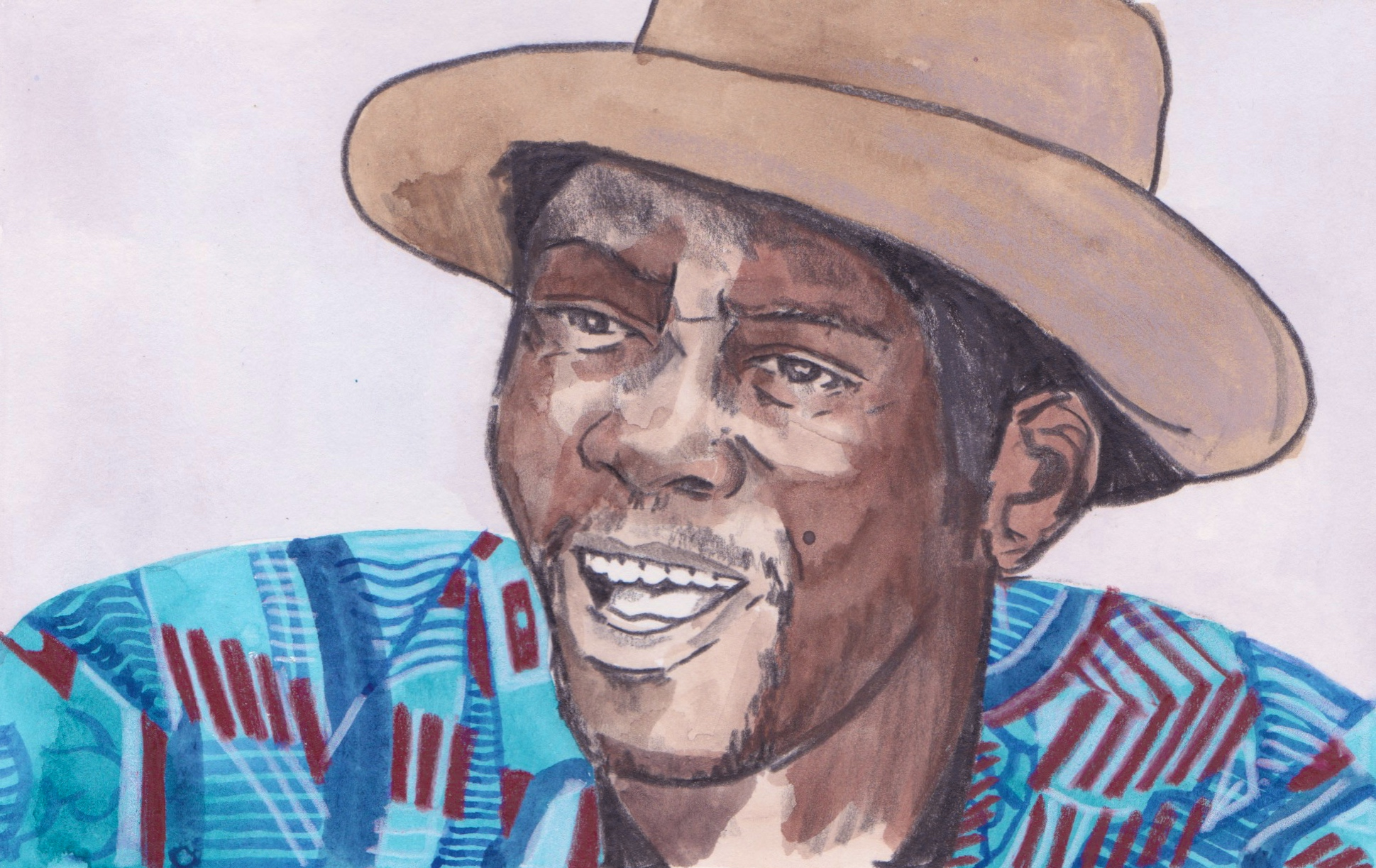 30/05/15 Ben Zabo, the musician from Mali is having a great 2015 after he toured the Sahara desert with his band. Beginning in Morocco he travelled to Timbuktu and Segou. He released his last album last year ' Wa Maliba' (Our Great Mali)