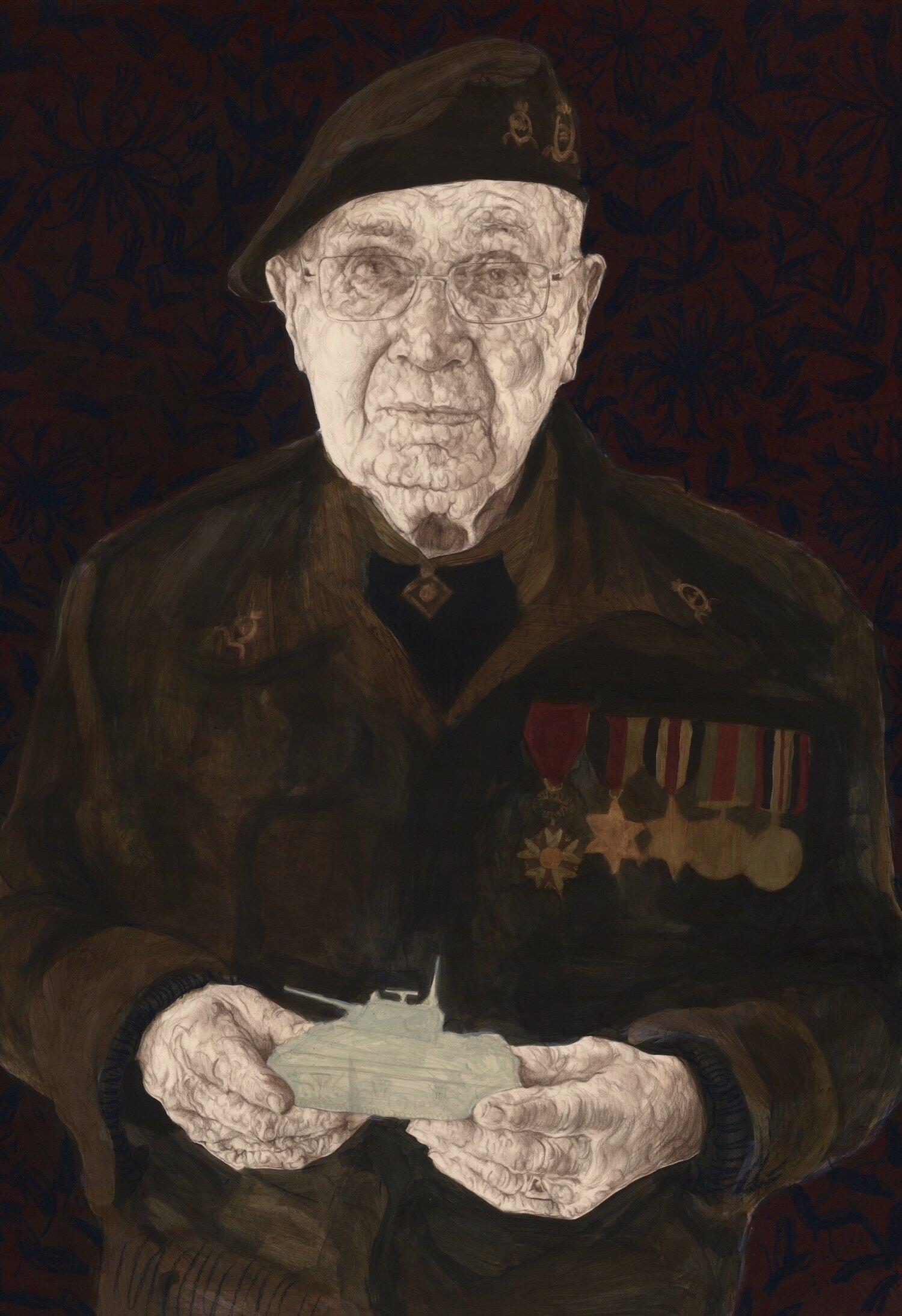 Arthur Jones,  Lance Bombardier