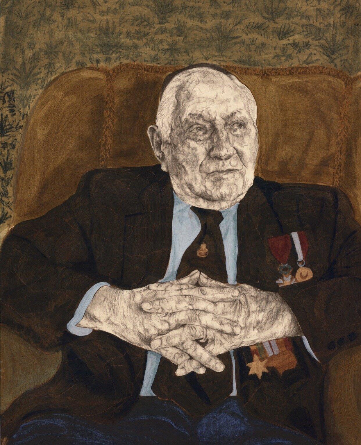 Mervyn Kersh , Sergeant, Royal Army Ordnance Corps.