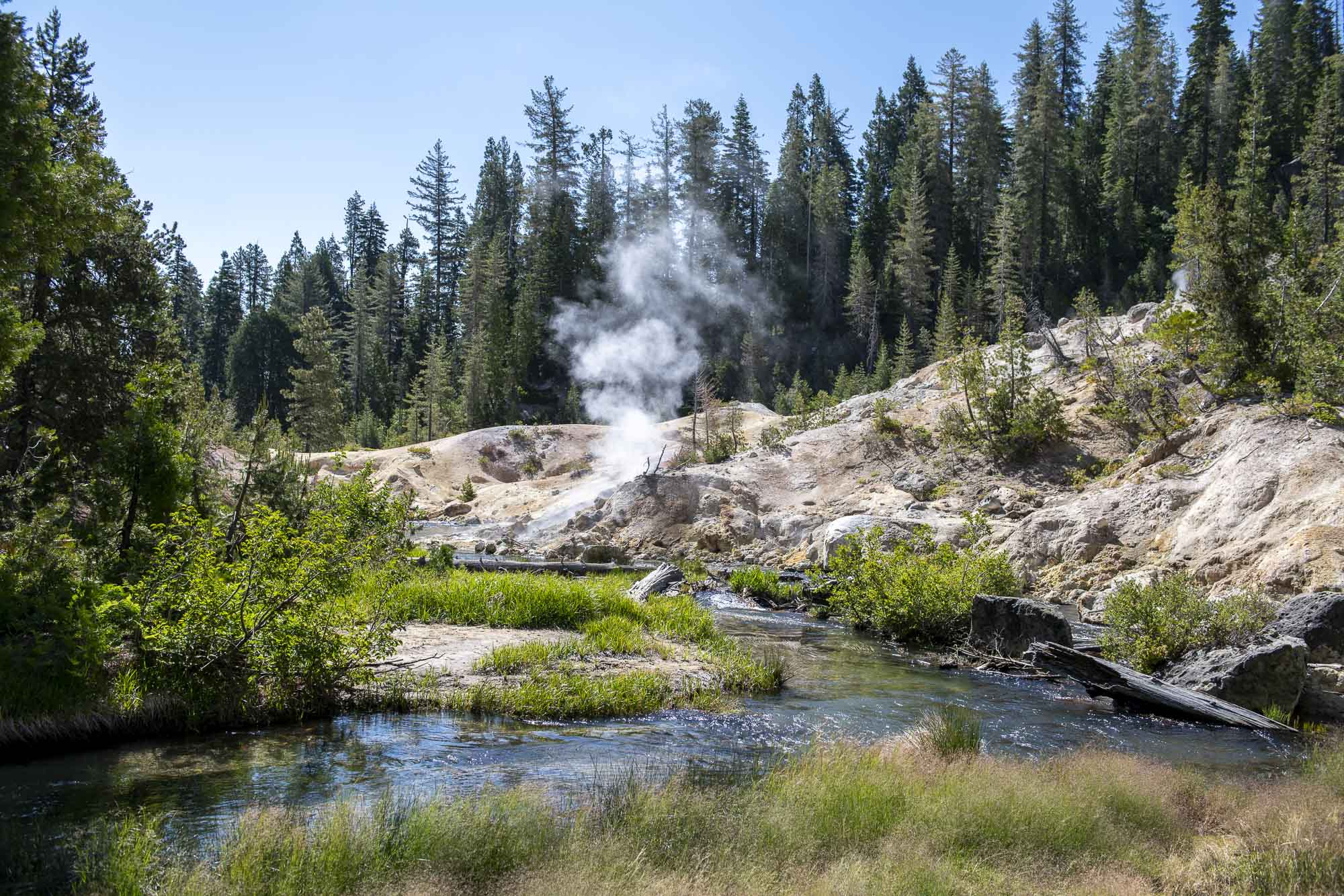 Hot Springs Creek, Lassen Volcanic National Park
