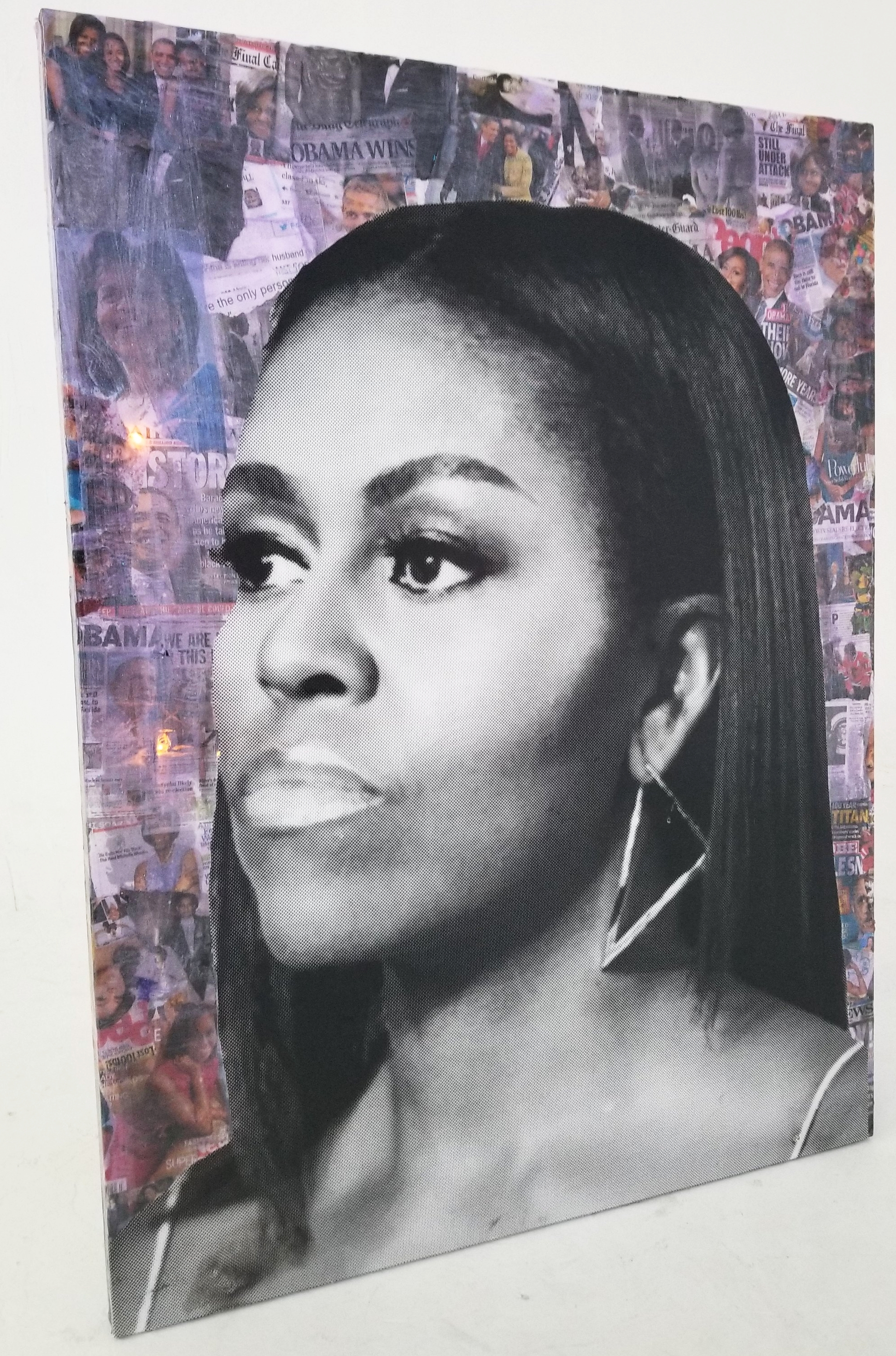 """Michelle"" 36 x 48 - 2018 (SOLD)"