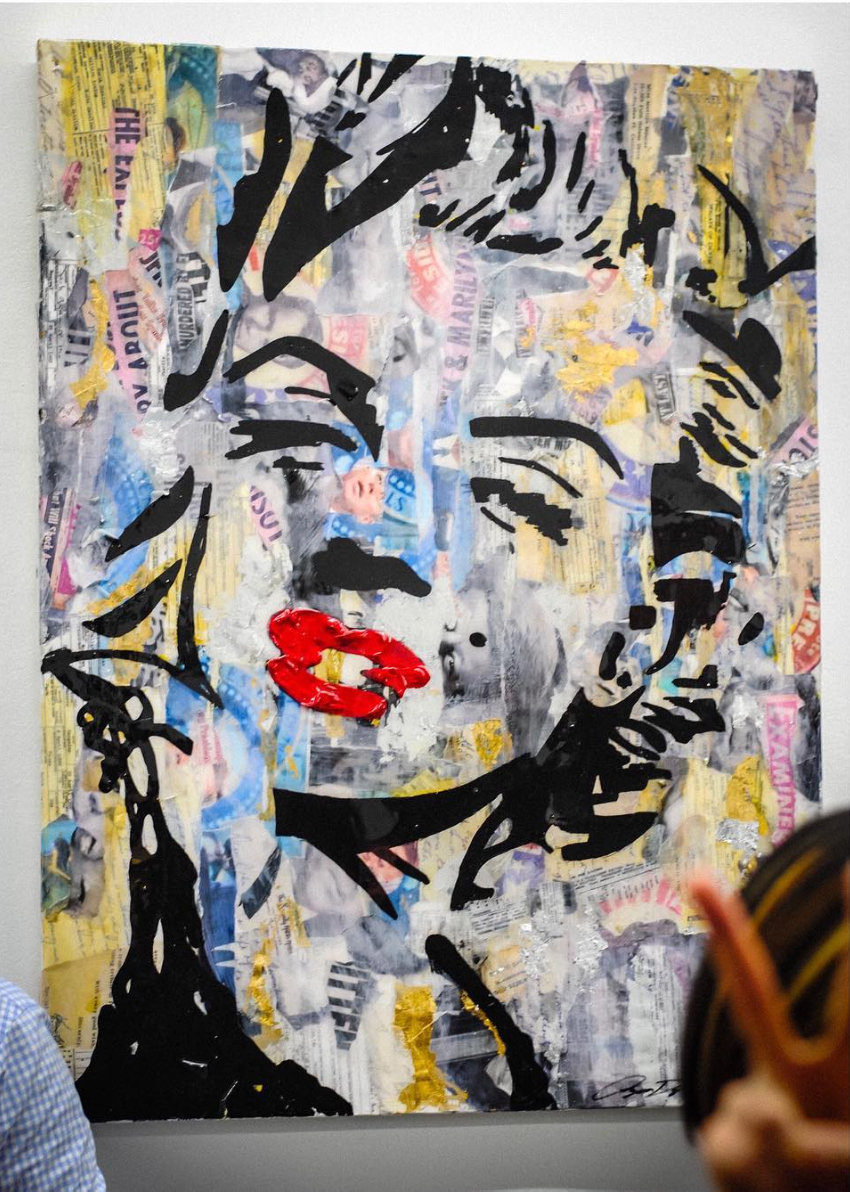 """Monroe"" 30 x 40 - 2015 (SOLD)"