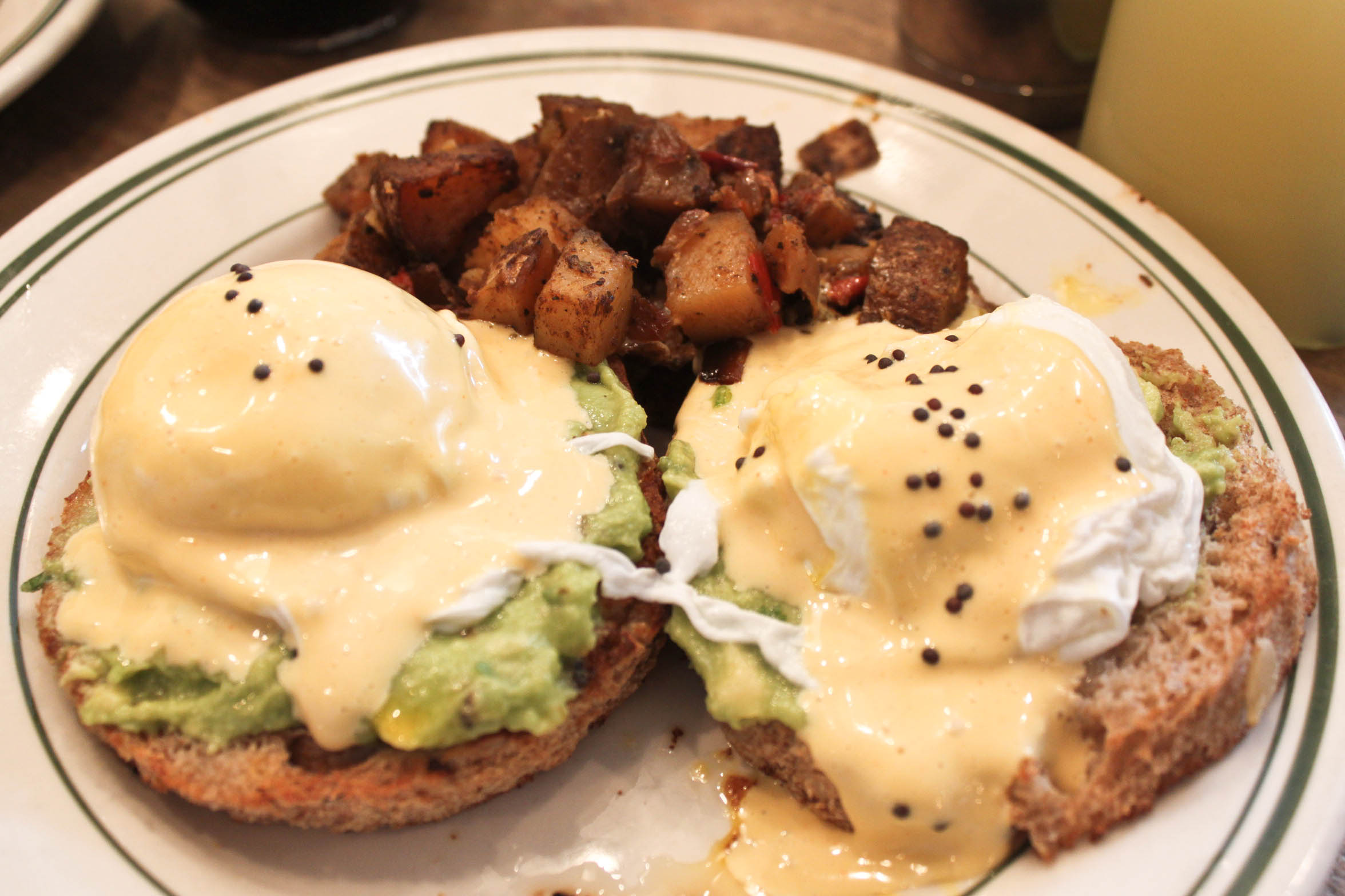 Smashed Avocado Toast Benedict