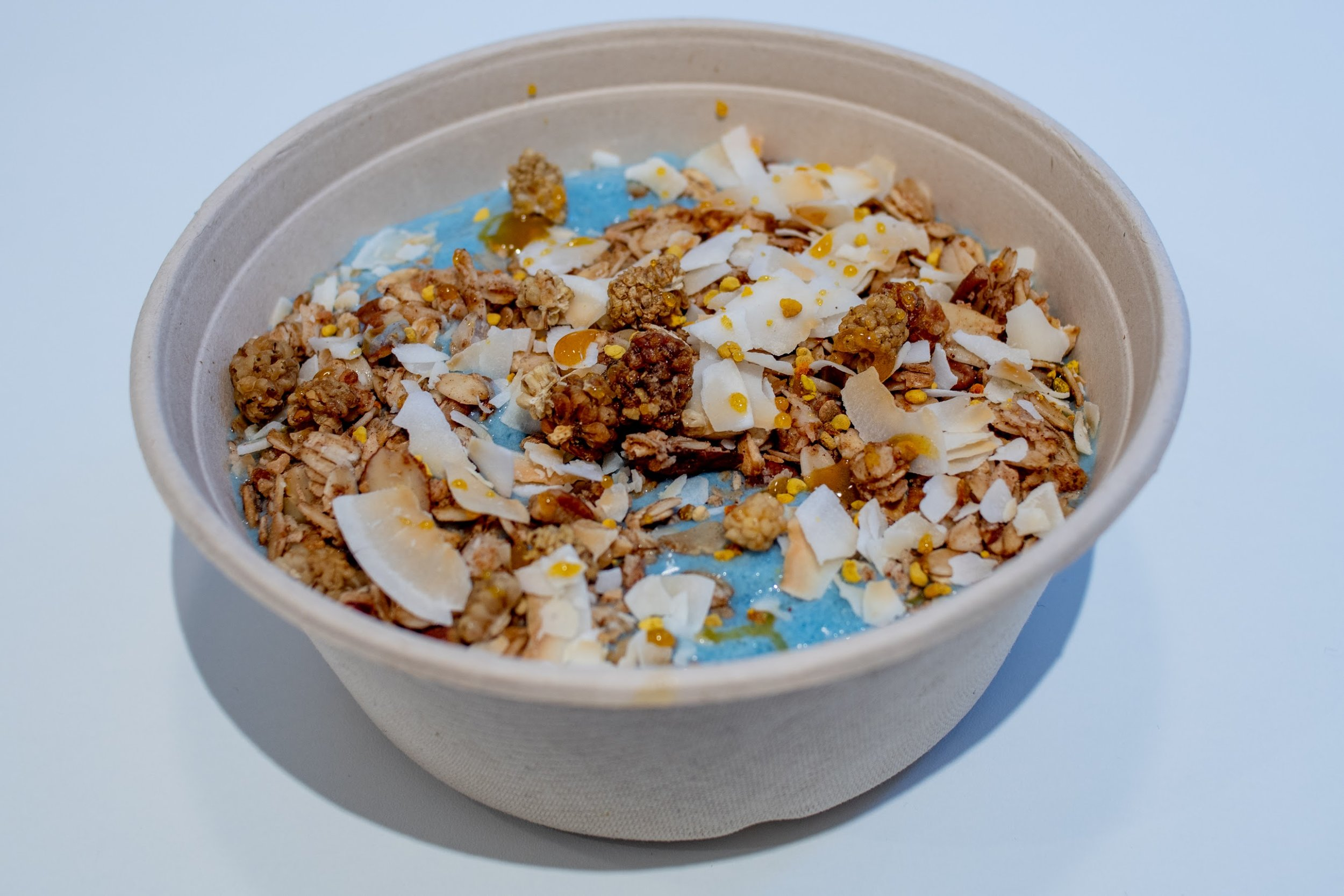 The Blues smoothie bowl.