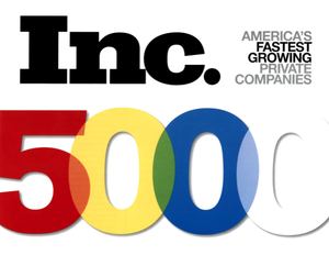 Tangerine Salons is recognized as oneof Inc. Magazine's top 5000 fastest growing companies in America.
