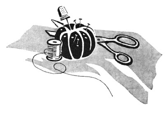 Graphic used on the Sewing Camp Student Manual