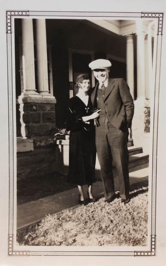 Walter & Ruth Russell June 2, 1930