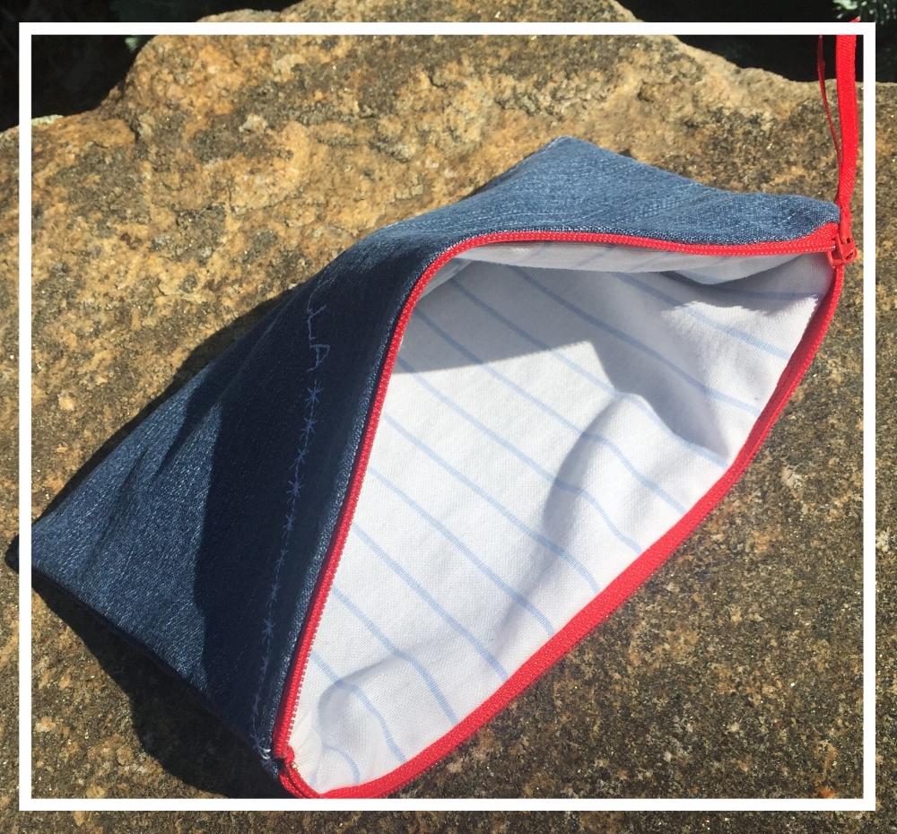 Lined Zipper Bag