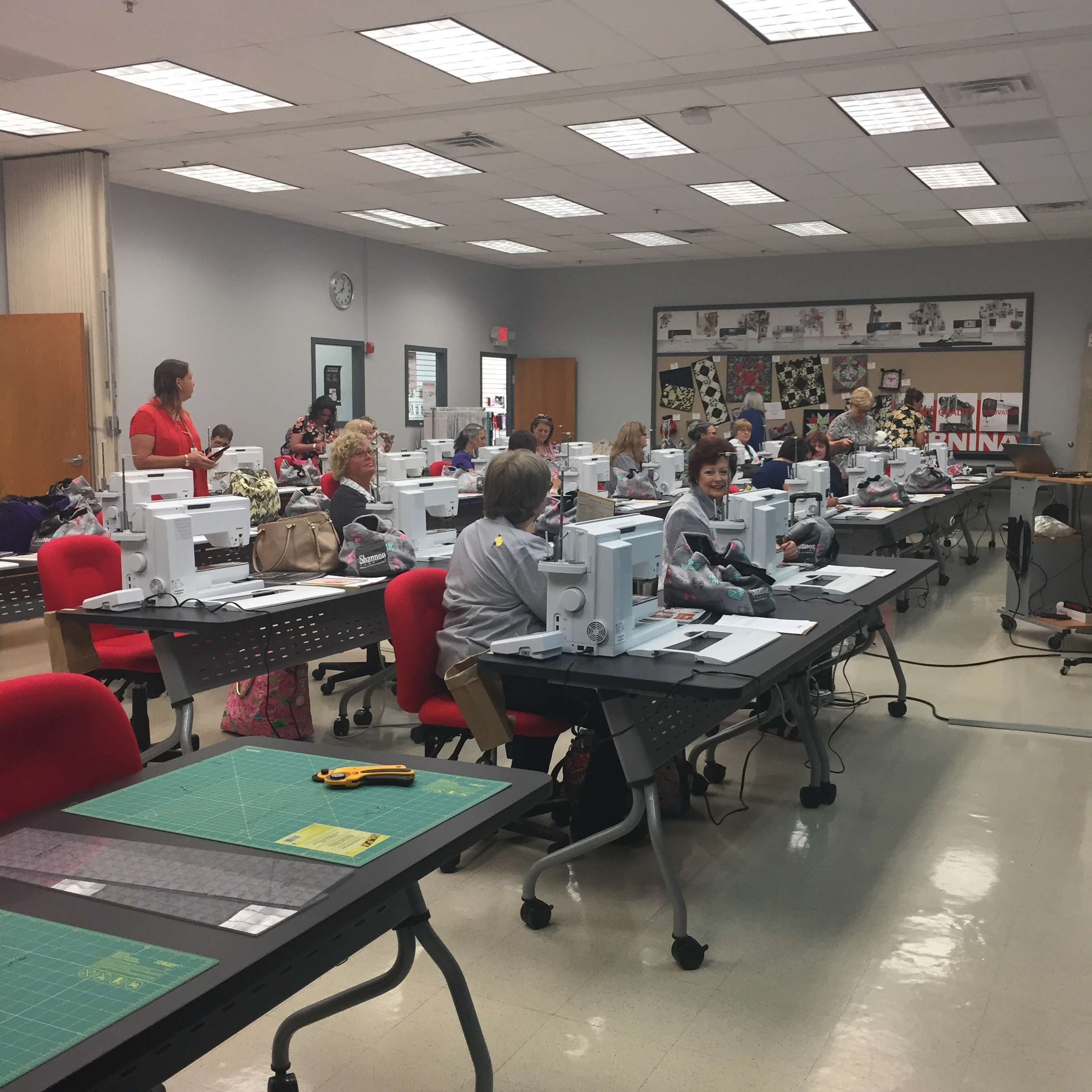 The  Bernina Center educational room