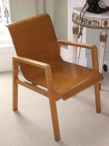 Alvar Aalto Construct chair