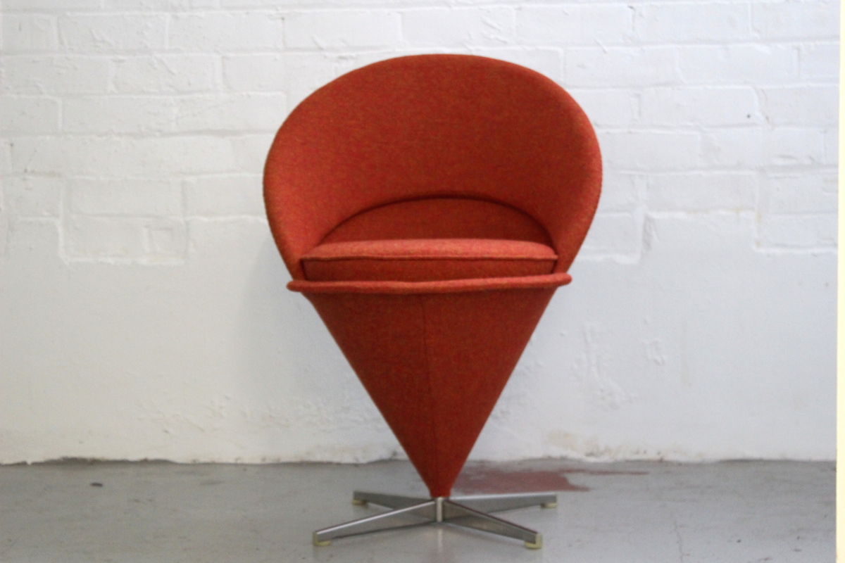 Verner Panton Cone chair - manufactured by Plus Linje