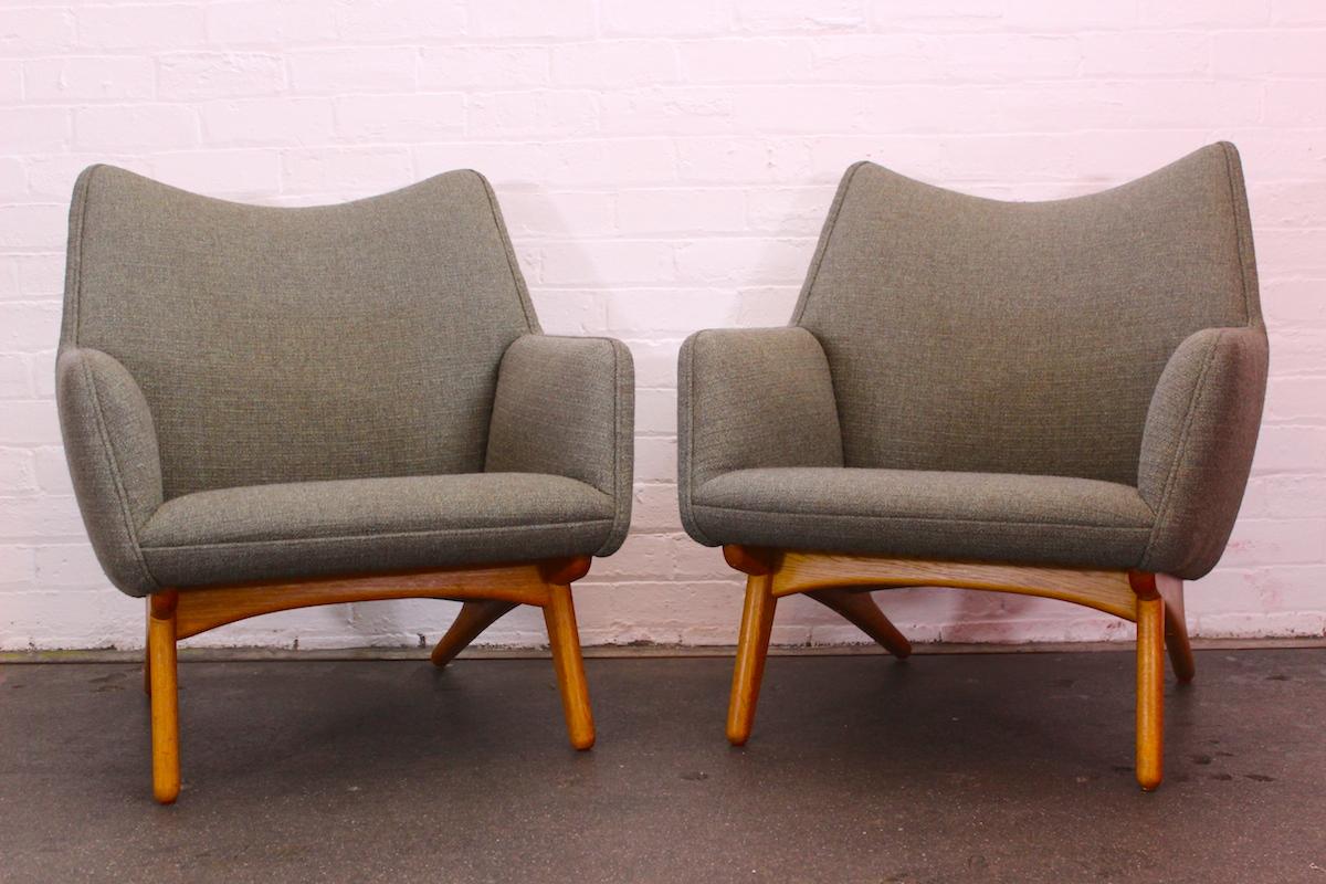 Pair of Illum Wikkeslo lounge chairs