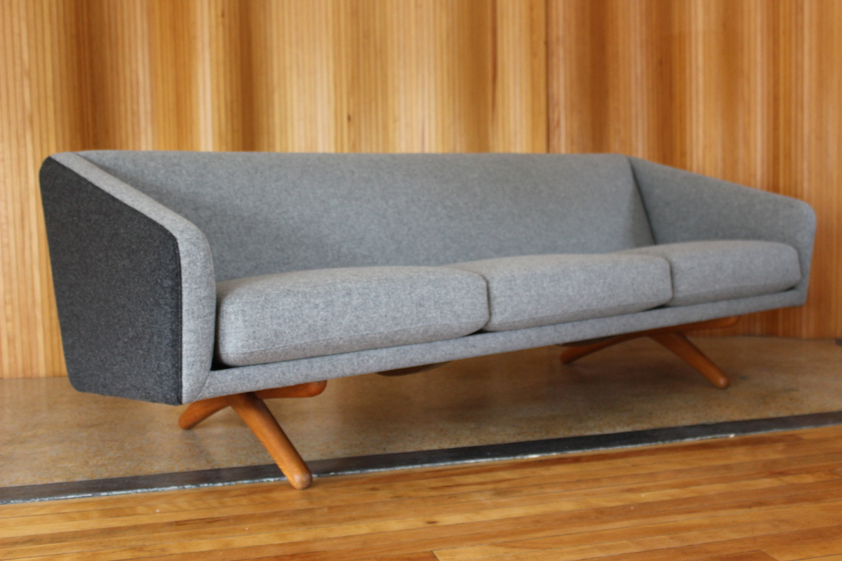 Illum Wikkelso ML-90 sofa - manufactured by Mikael Laursen, Denmark