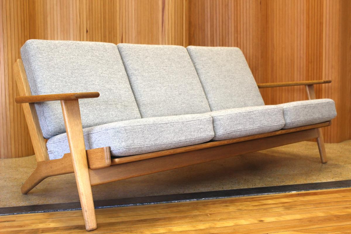 Hans Wegner sofa - model GE-290/3 - Getama, Denmark