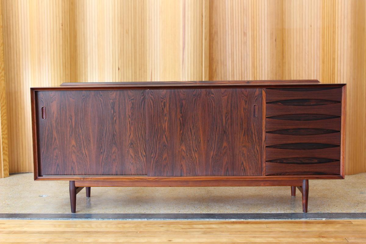 Arne Vodder 'Triennale' rosewood sideboard - model OS29 - Sibast