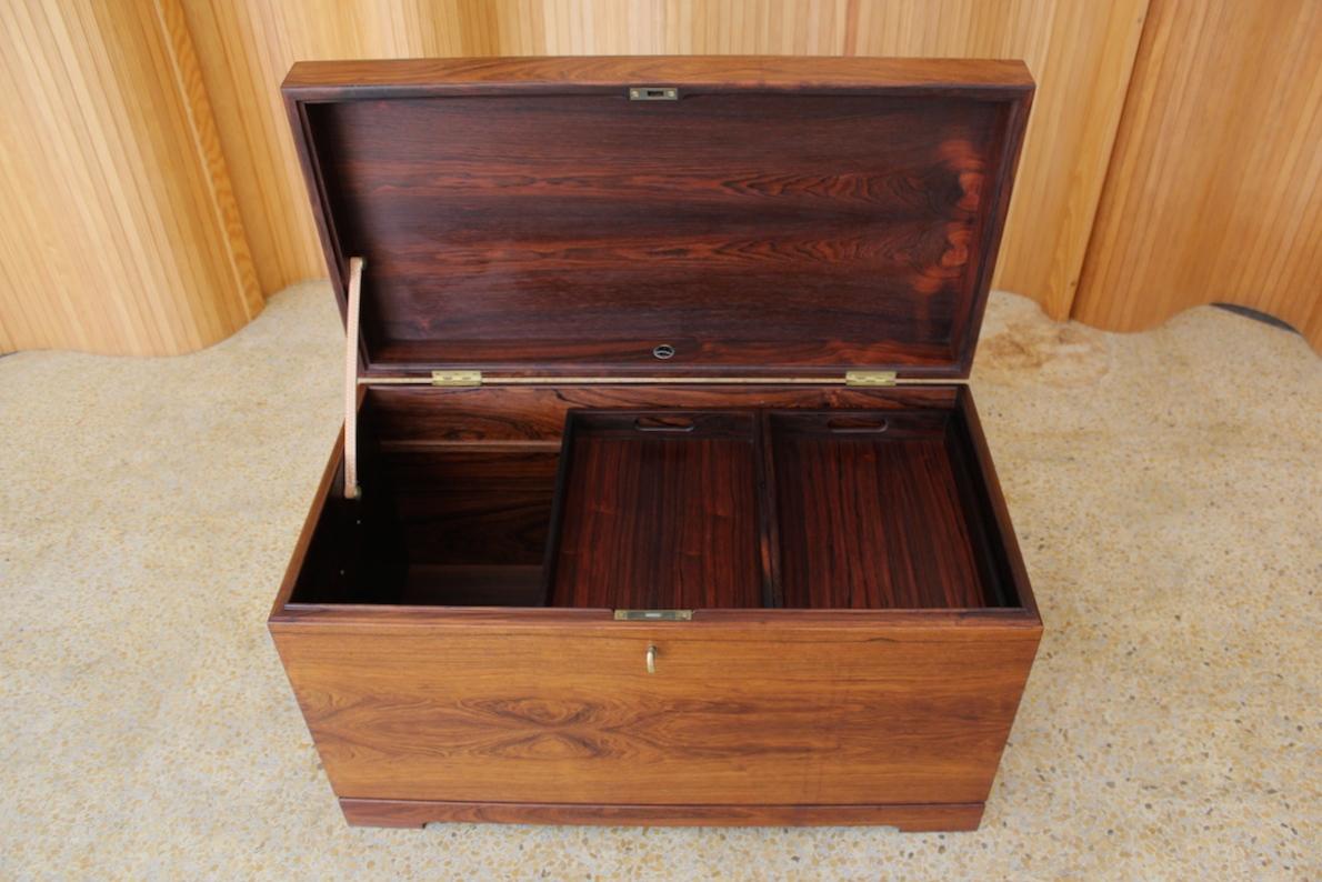 Kaj Winding rosewood kist / blanket box
