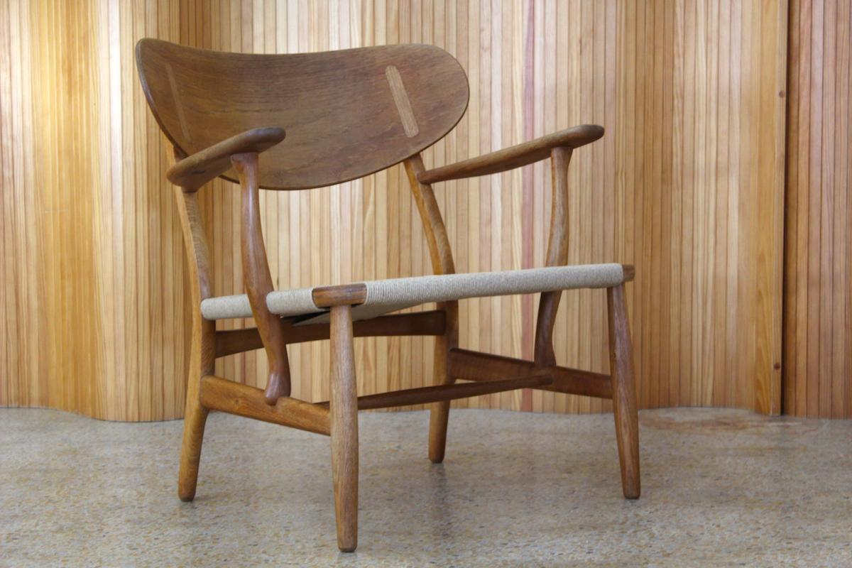 Hans Wegner CH22 lounge chair - Carl Hansen and Son