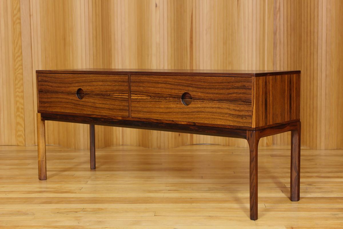 Aksel Kjersgaard rosewood low chest - model 394