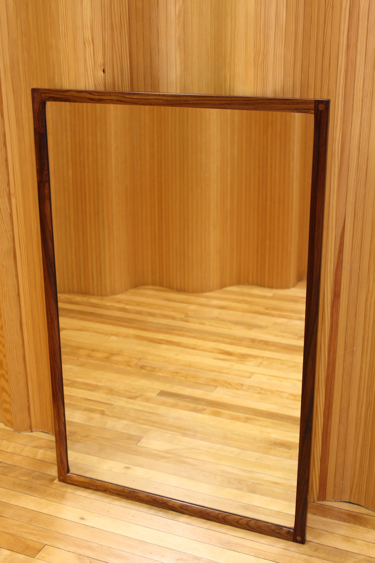Aksel Kjersgaard large rosewood hall mirror