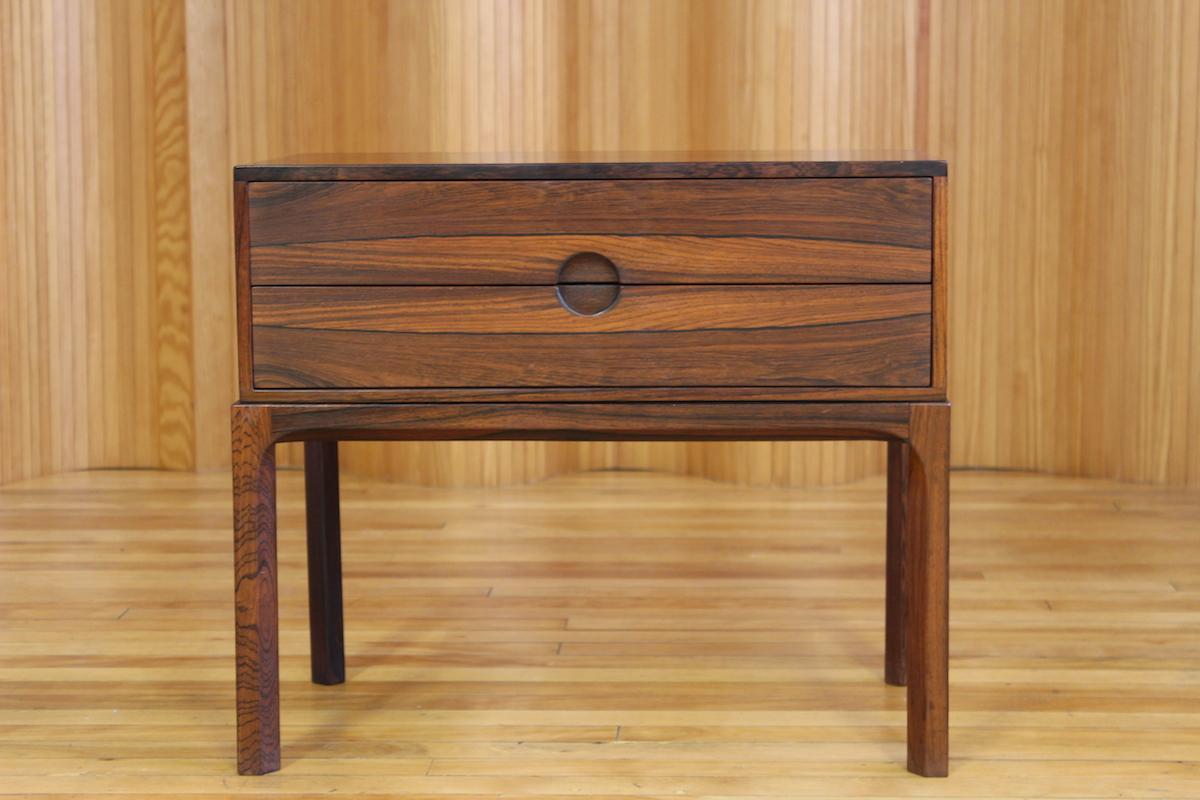 Aksel Kjersgaard rosewood low chest - model 384