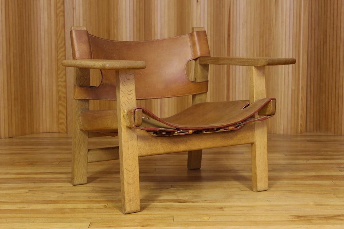 Borge Mogensen 'Spanish' chair, Fredericia Stolefabrik, Denmark