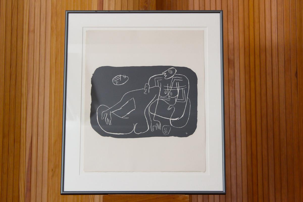 Le Corbusier lithograph 'entre-deux' portfolio