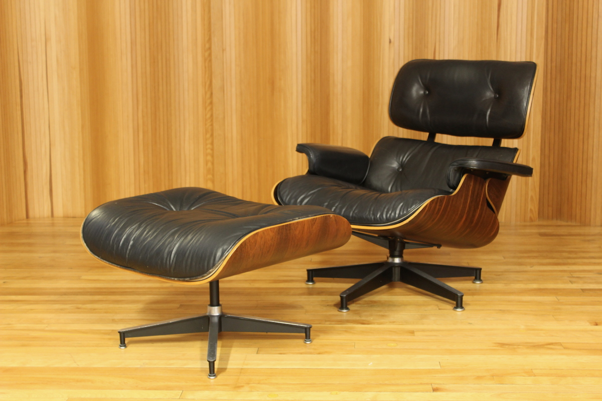 Charles & Ray Eames lounge chair & ottoman, Herman Miller