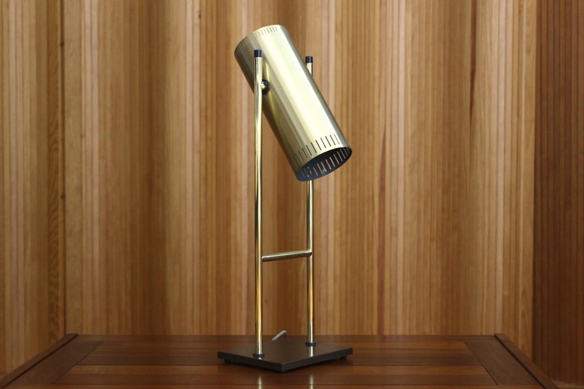 Jo Hammerborg 'Trombone' table lamp - Fog & Morup, Denmark