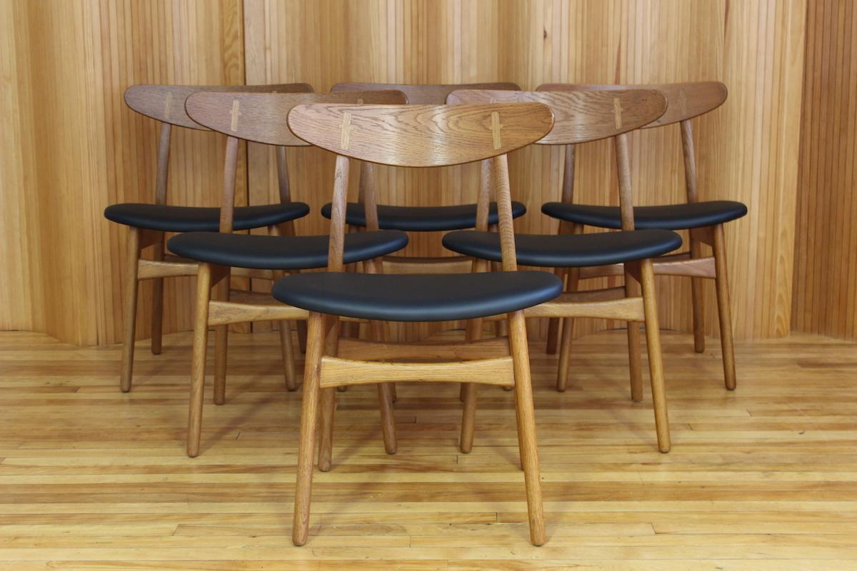 Hans Wegner CH30 dining chairs - Carl Hansen & Son, Denmark