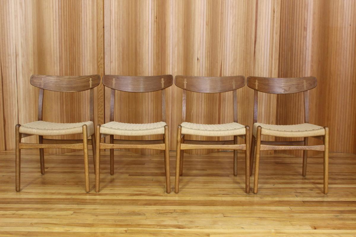 Hans Wegner CH23 dining chairs Carl Hansen & Son Denmark