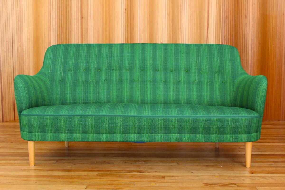 Carl Malmsten 'Samsas' sofa OH Sjogren Sweden 1960
