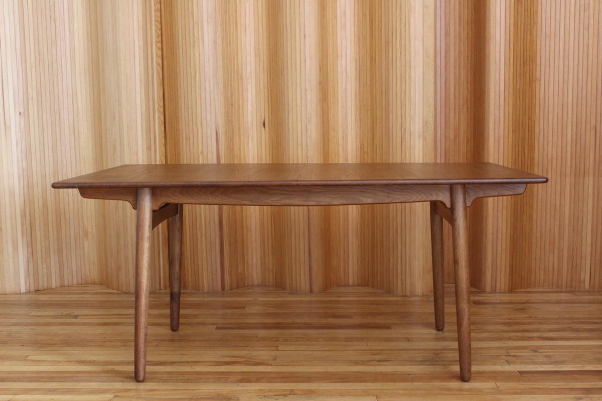 Hans Wegner model AT310 oak dining table Andreas Tuck
