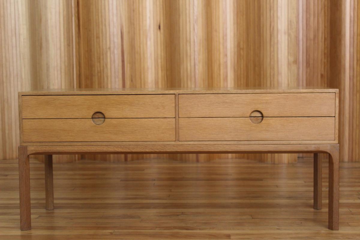 Aksel Kjersgaard model 394 oak chest