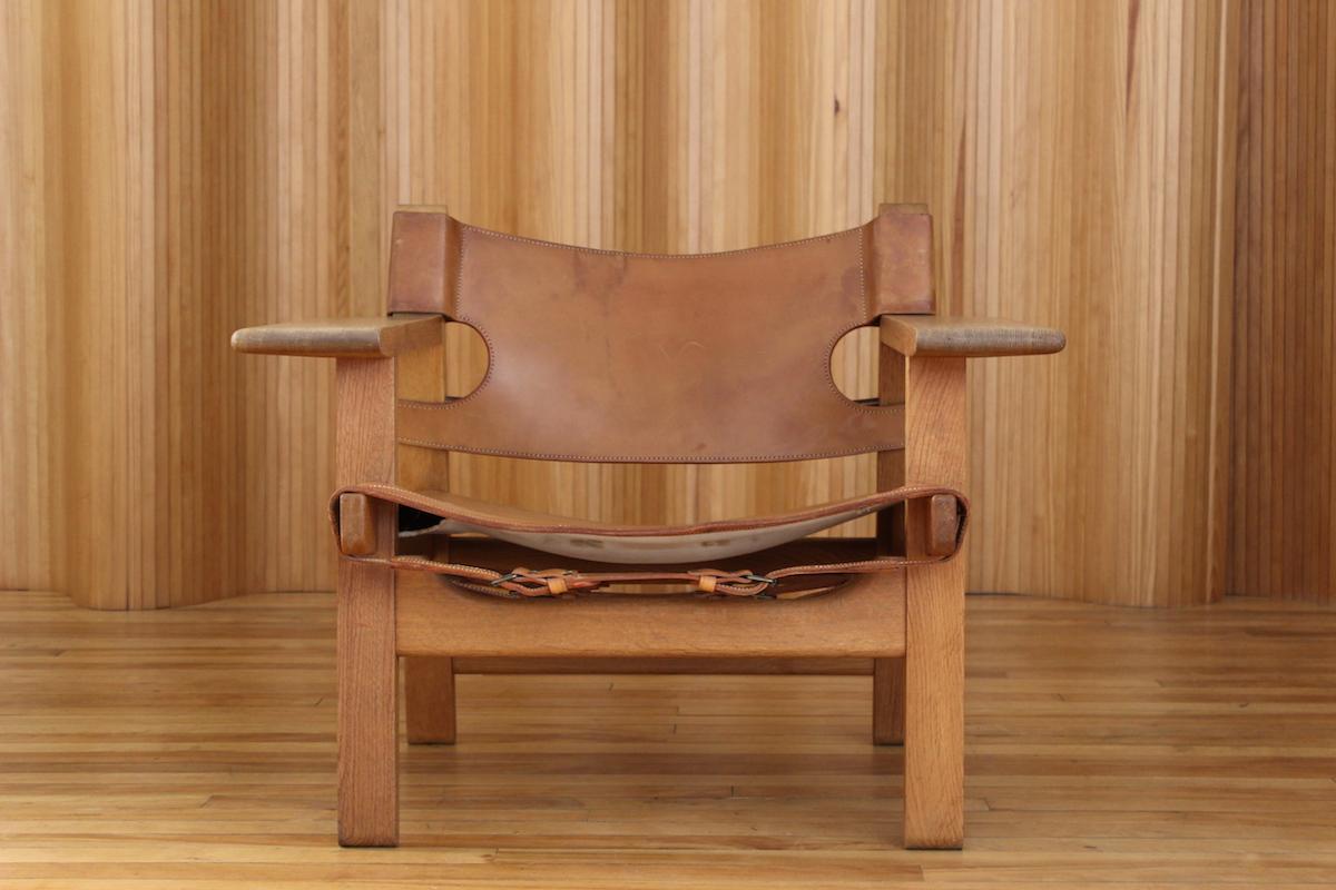 Borge Mogensen Spanish chair model 226 Fredercia Denmark