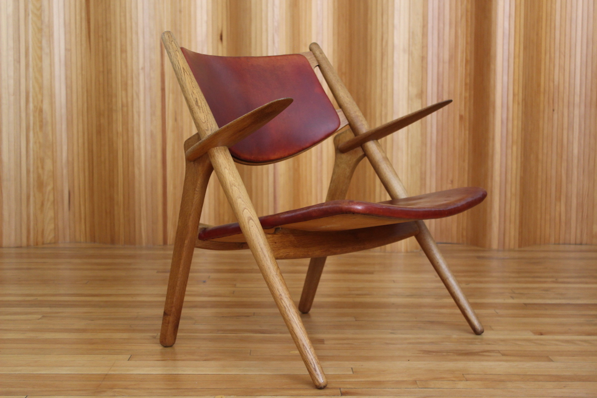 Hans Wegner CH28 lounge chair Carl Hansen & Son Denmark
