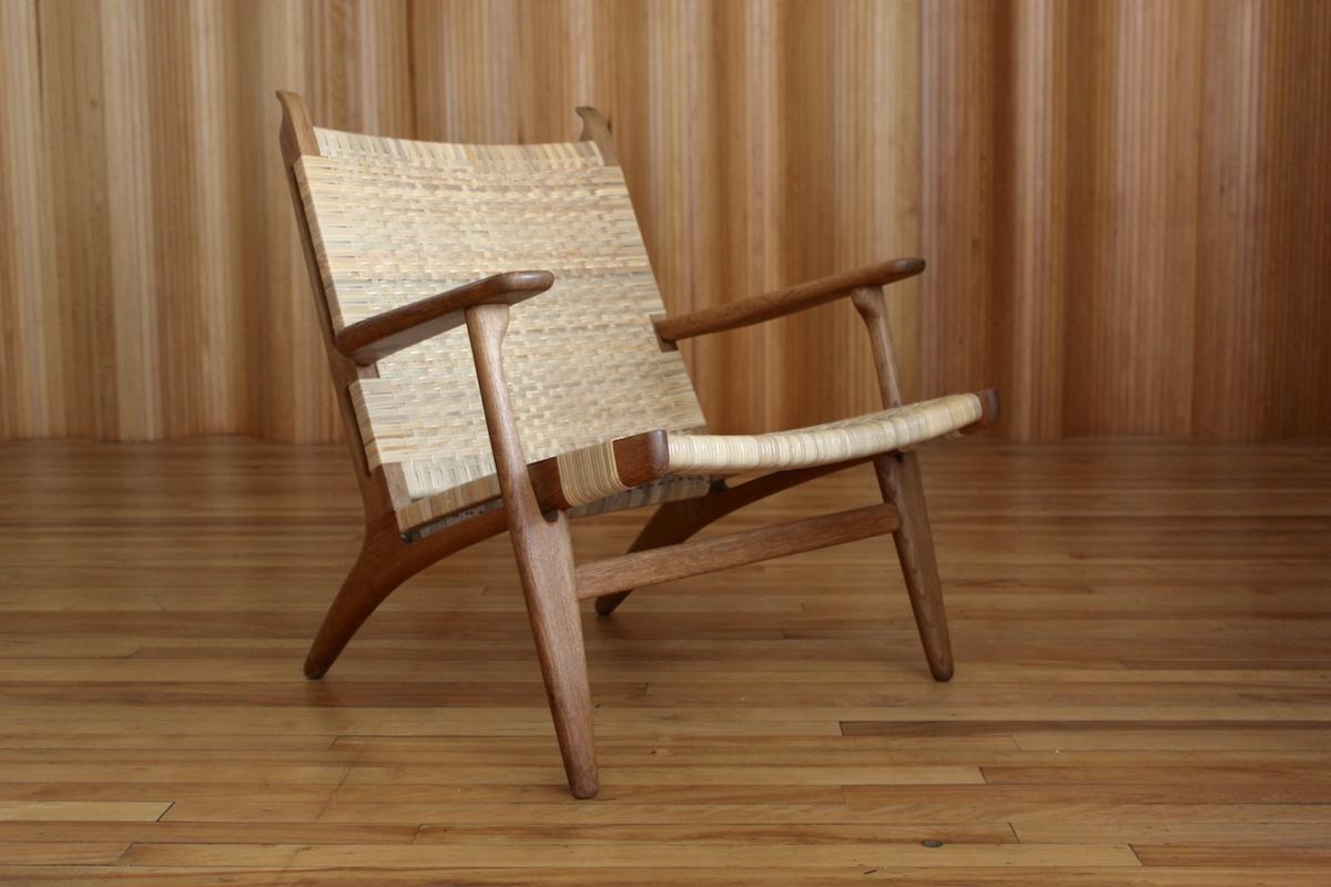 Hans Wegner CH27 lounge chair Carl Hansen and Son Denmark