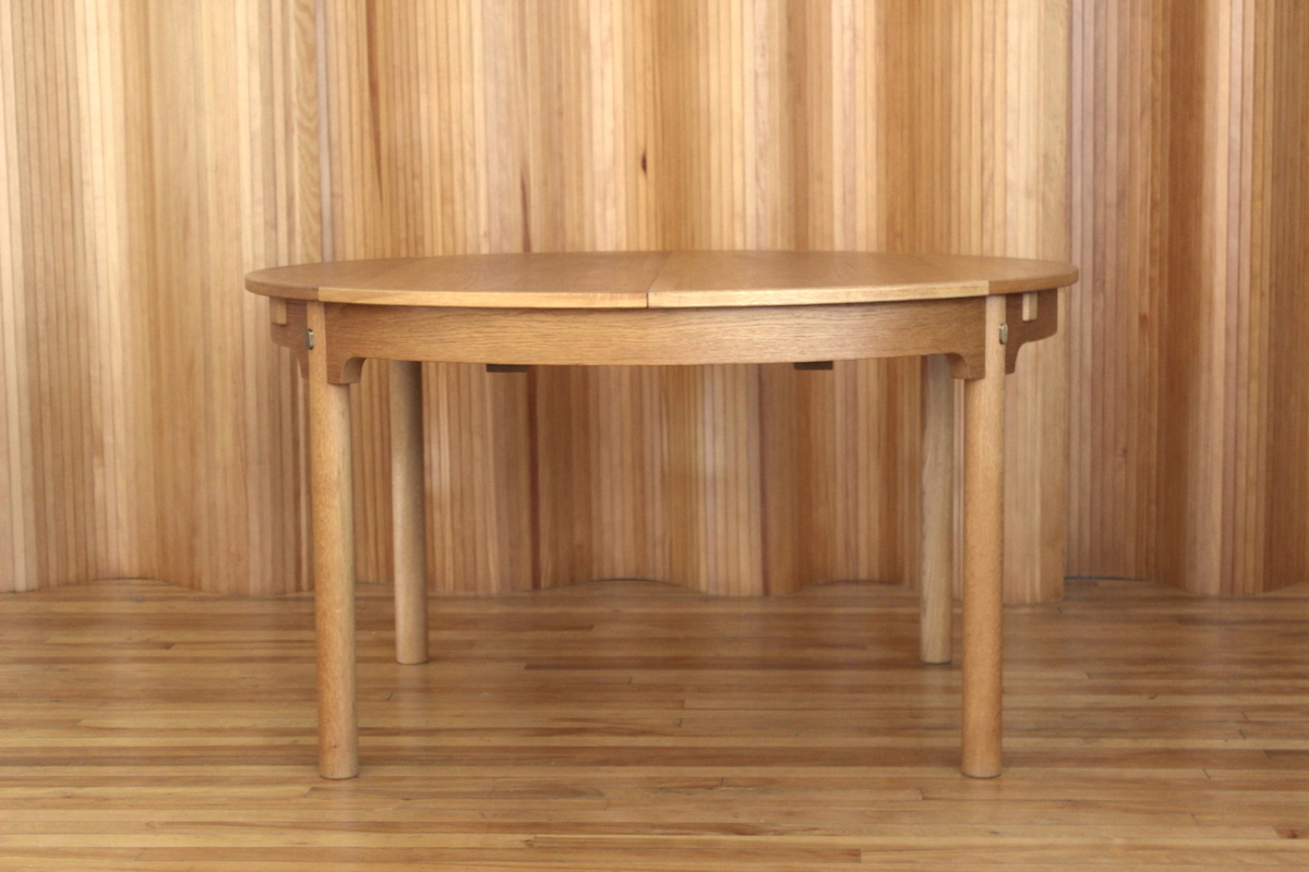 Borge Mogensen oak model 141 'Oresund' dining table Karl Andersson & Soner Sweden