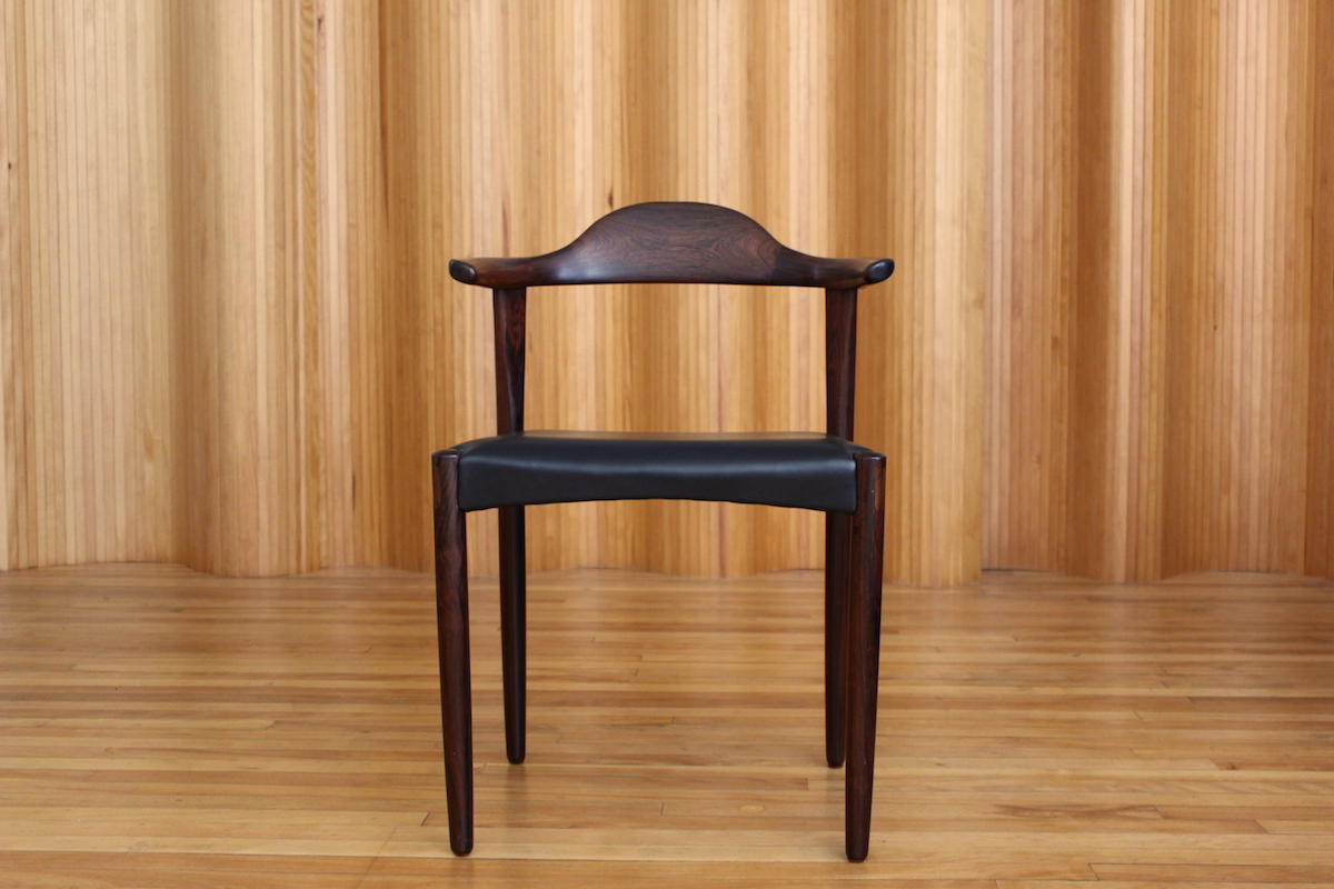 Jacob Hermann rosewood desk chair Randers Denmark